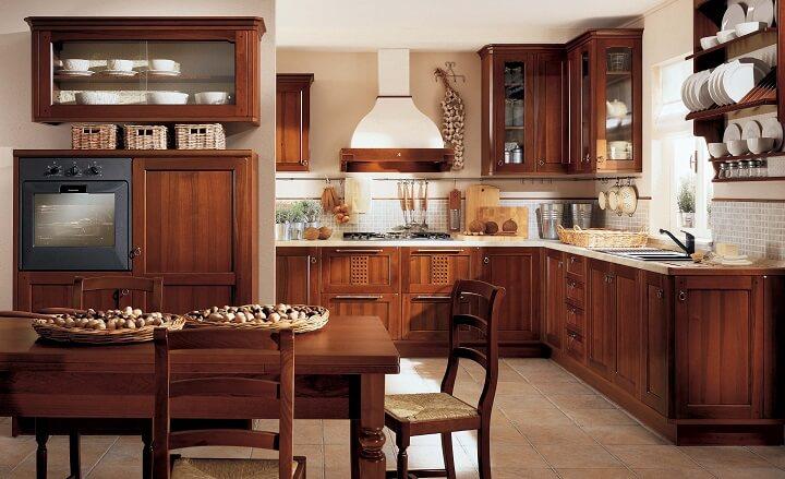 Nên làm tủ bếp bằng gỗ tự nhiên hay gỗ công nghiệp